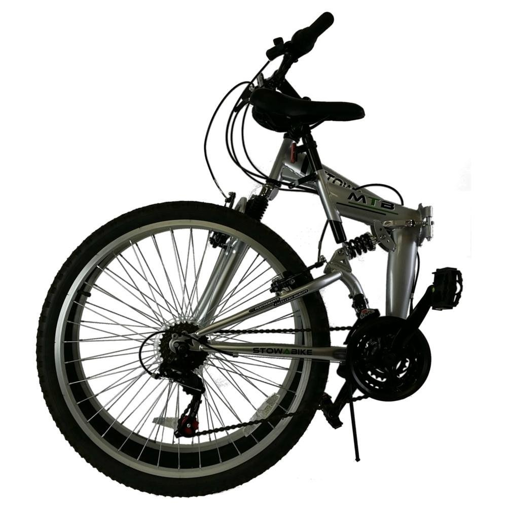 stowabike klappbares mountainbike 26 zoll faltrad test 2018. Black Bedroom Furniture Sets. Home Design Ideas